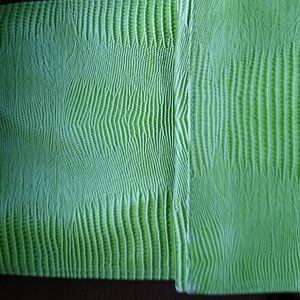 Green or Christmas purse